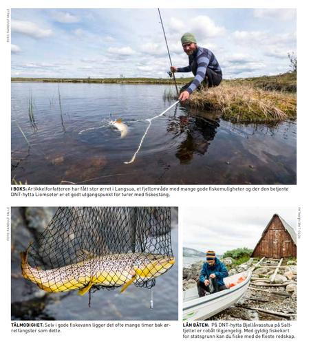 Åmotdalshytta på fisketopp