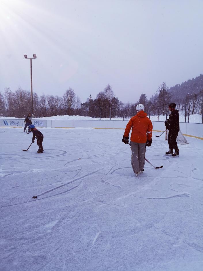 Fra Kom deg UT-dagen i Isfjorden.