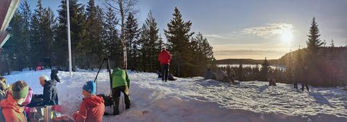 Fortsatt ski- og vaffelsesong