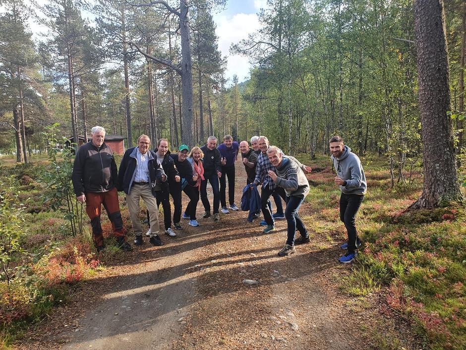 Styringsgruppa for prosjekt Nordlandsruta