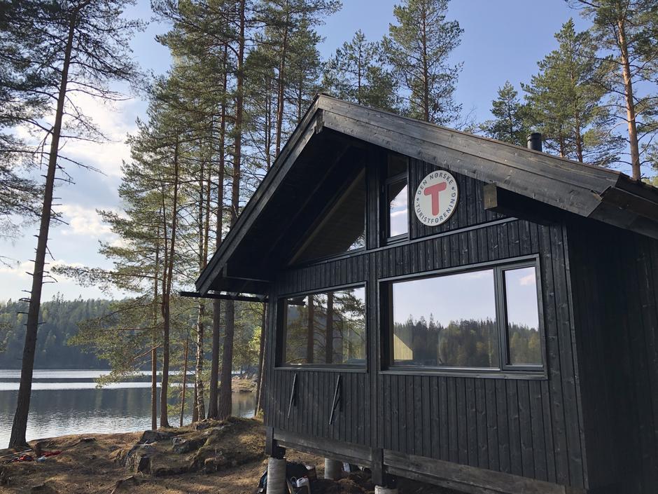 29. april 2019 ved Ramstadsjøen.