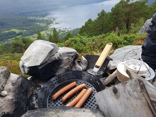 Grilling på Eikefjordstølen
