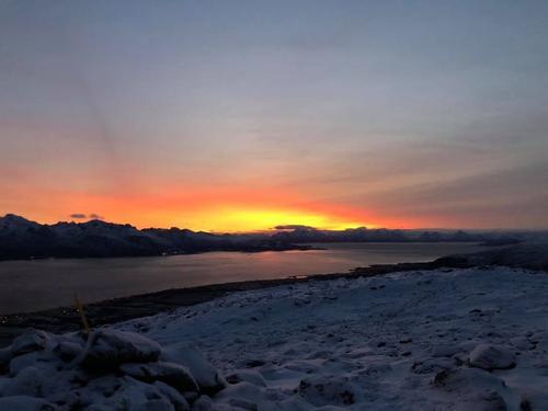 Vinterlys i nord