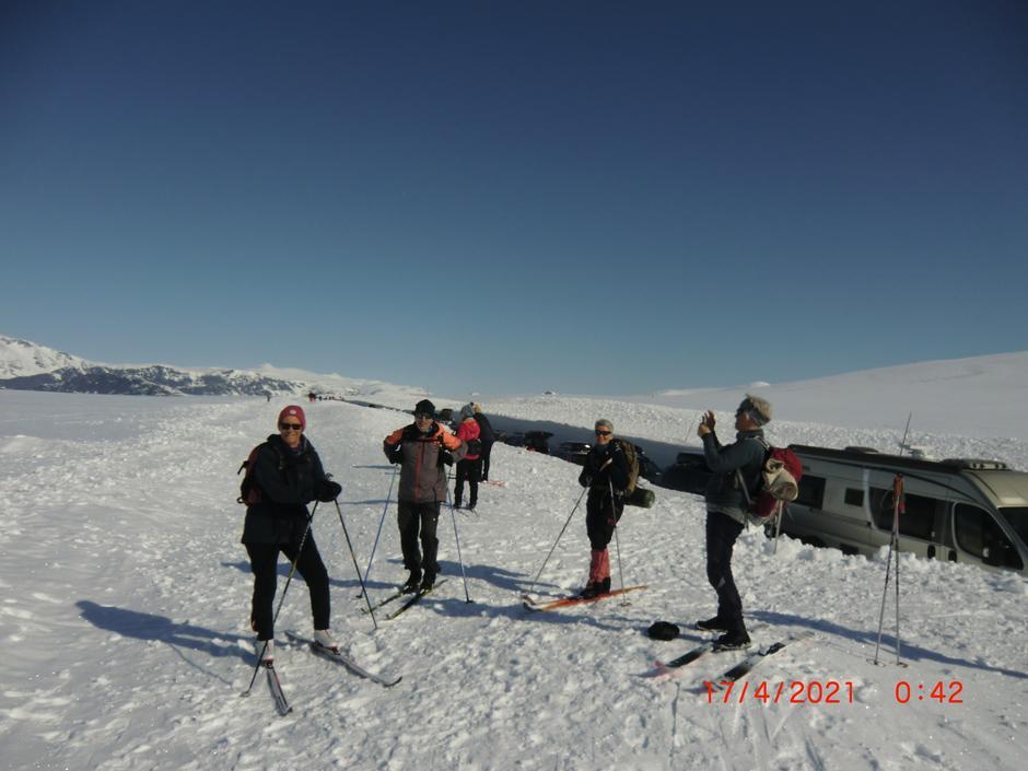 Bra med snø på Valdresflye