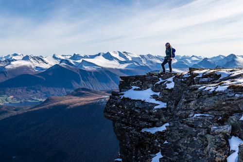 Patchell Fjellsport på Remmemstinden i Vestnes