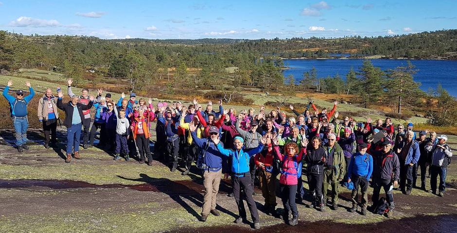 Kvenntjønnane. Frå Villmarkstur over Heimdalsheia 2018.