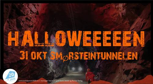 Halloween i Smørsteintunnelen