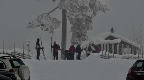 Skitur med Onsdagsgruppa 24.01.2018.