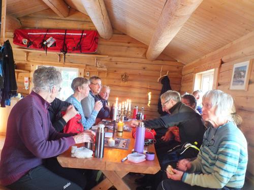 Skitur  til   Vollkoia/Blåmyrkoia 02.01.2019