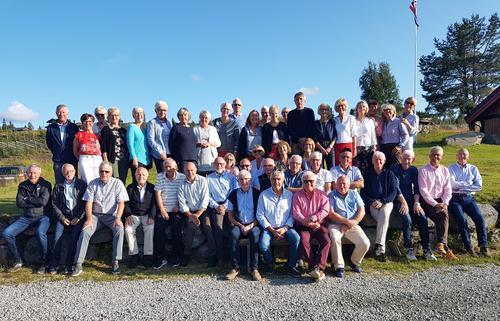 Seniorgruppa på Golsfjellet 11.-16. august 2019