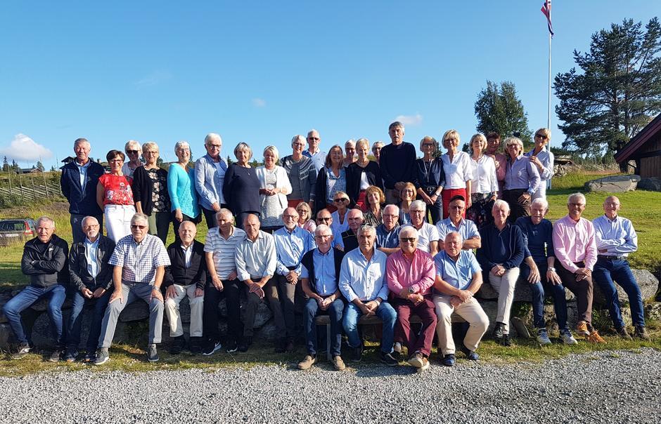 Seniorgruppa på Golsfjellet 2019