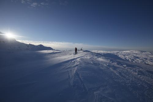 Vinterlyset fra Lid til Høgabu