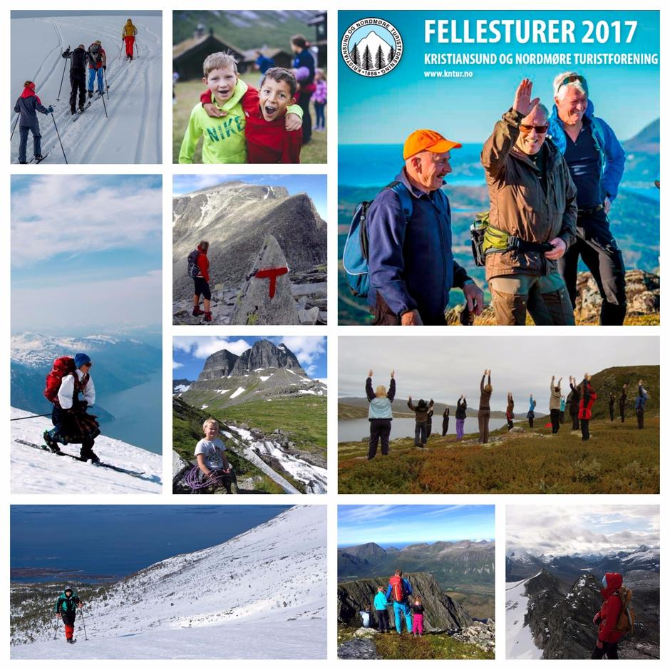 Fellesturkatalogen - 2017 bildecollage