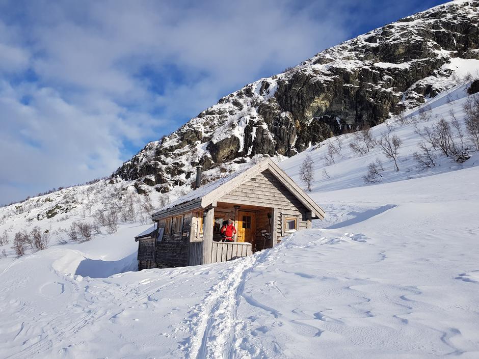 BT-hytten ved Vesetvatnet