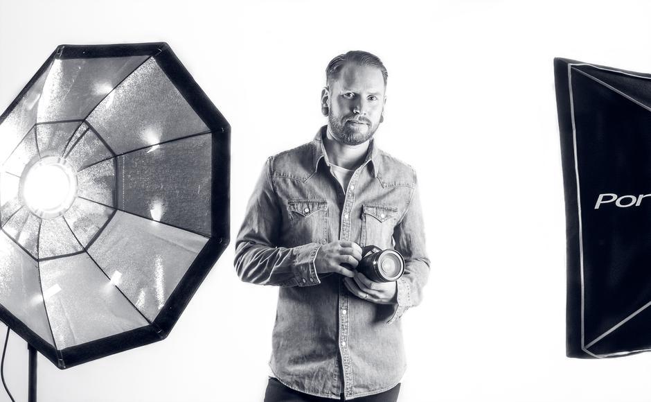 KURSHOLDER: Fotograf og fjellfant Kristoffer Mæle Thuestad garanterer Rein Eksponering i høstferien.