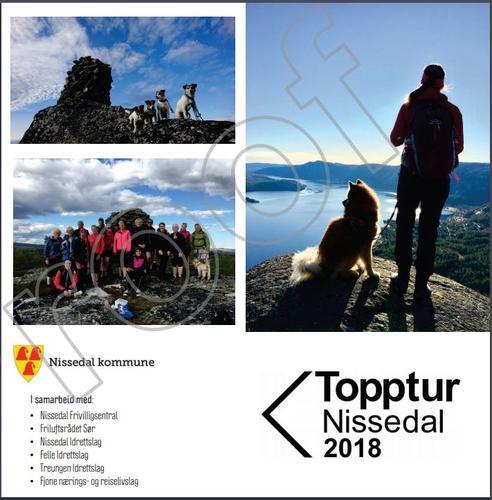 Topptur Nissedal 2018