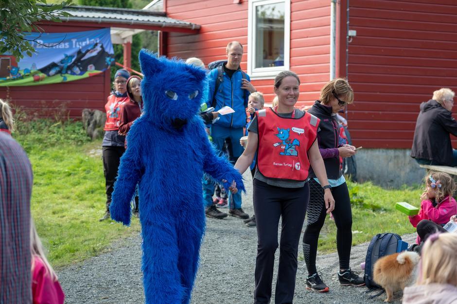 Barnas Turlag Haugesund hadde besøk av Turbo