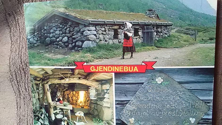 Gjendinebua er oppkalt etter Gjendine Slålien