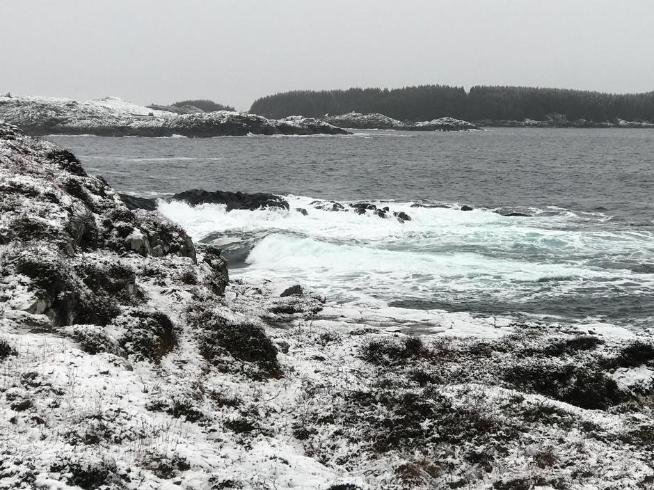 Havet møter land - Gavelen