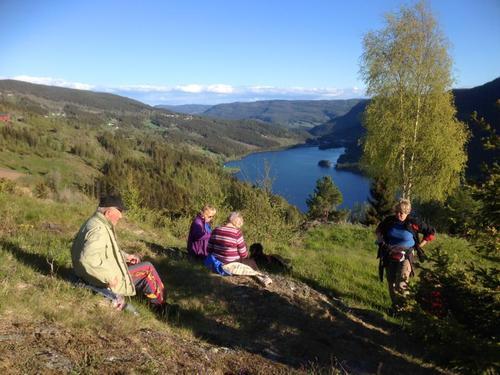 8. juni var det tur med seniorgruppa til Holdalsfoss - Skrautvål