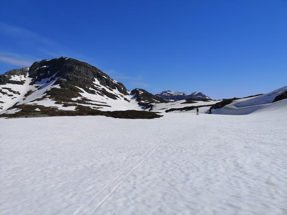 I dalen mellom Byrkjefjell og Iendefjell
