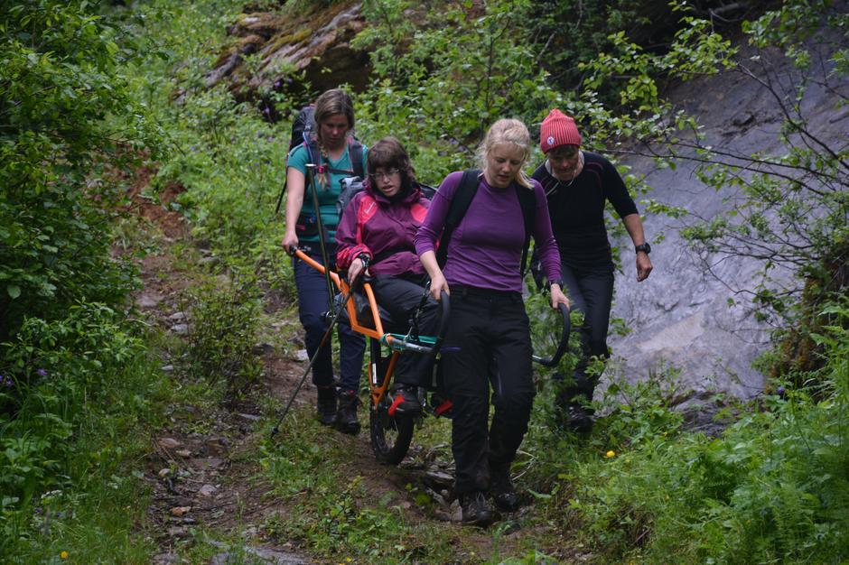 3-dagers tilrettelagt tur med DNT/Valnesfjord Helsesportsenter