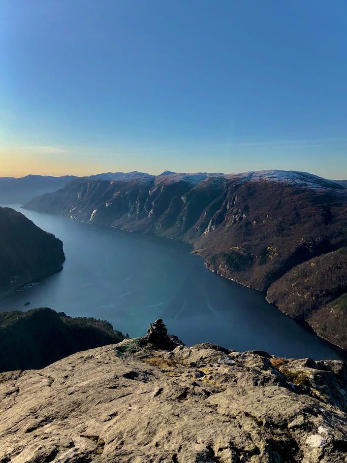 Utsikt fra Storafjellet