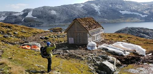 Etterlengtet hytte i Torfinnsdalen