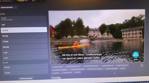 MED Kurt og NRK i kajakk til Furøya