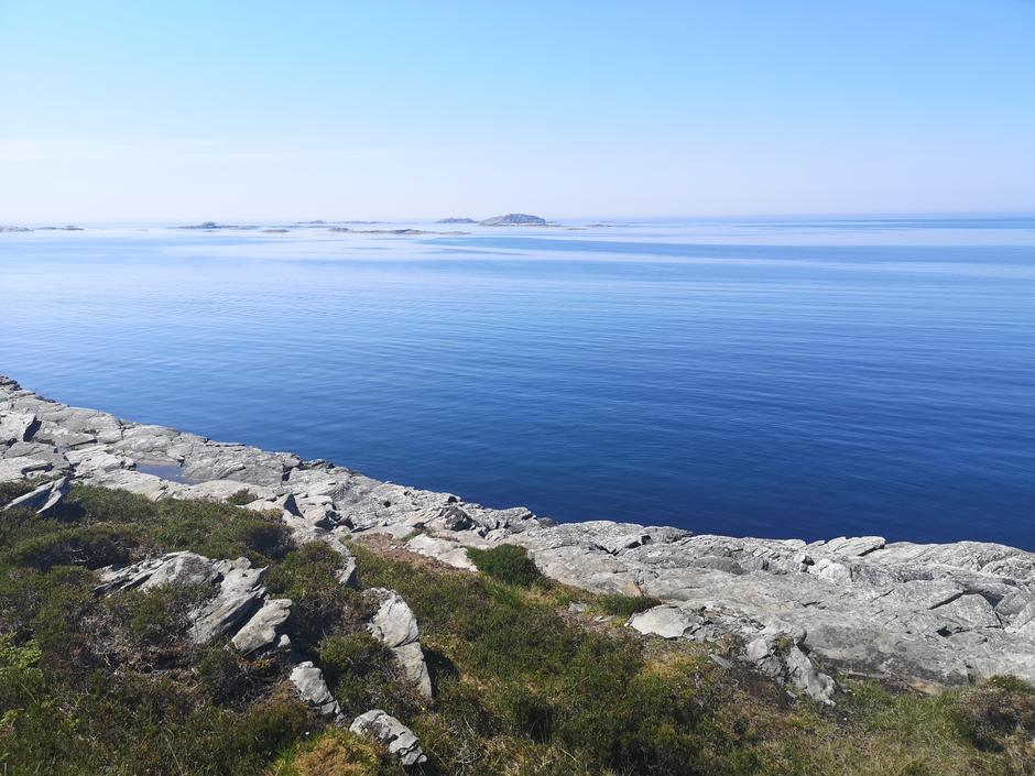 Utsikt fra Gløvrebuløypa