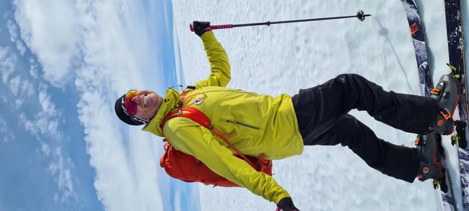 Leder Ole-Morten Hestetun i KNT Fjellsport på tur.