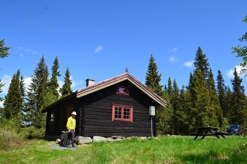 DNT Lillehammers hytter i perioden mai - juni 2020
