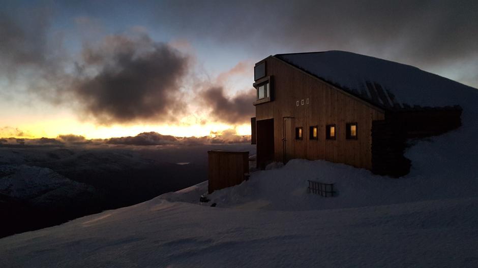 Onsdag 10.10: Skålabu - snø fra ca. 1000 moh.