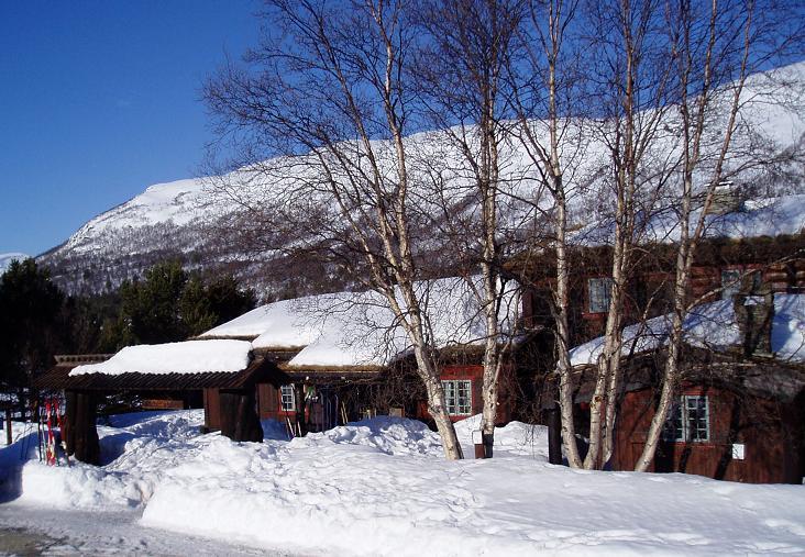 Sota Sæter i vinterprakt. Foto: Sota Sæter