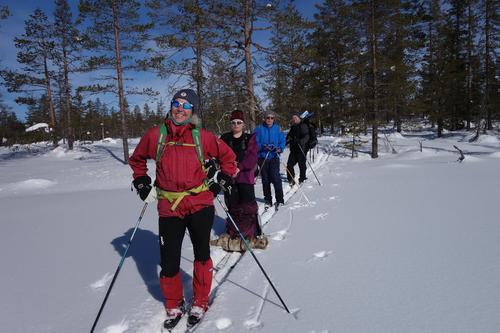 Vintertur på Flishøgda
