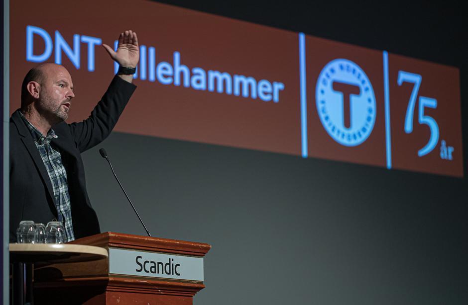 Generalsekretær i DNT Lillehammer, Dag Terje Klarp Solvang.