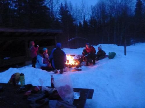 Vintertur til Nedre Gupu