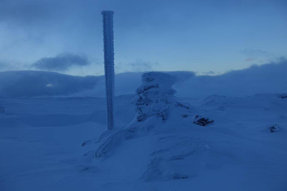 Søndag 10.12: Toppvarden på Vossaskavlen (ca. 1520 moh)