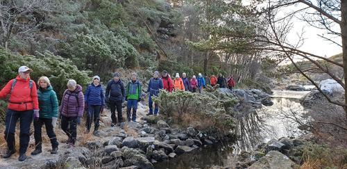 Rundtur  Fjell-Kyrkjevegen- Bekkebrua-Fjell.