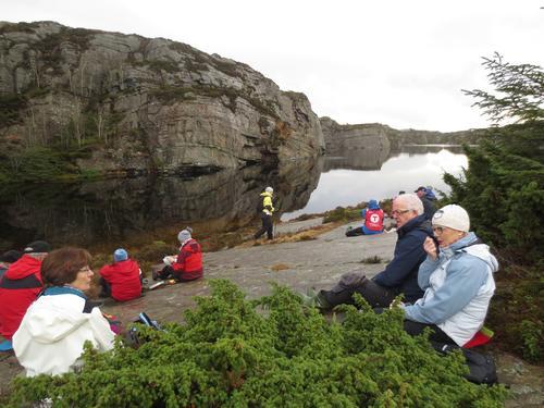 Seniorturen 27. januar til Fuglavatnet