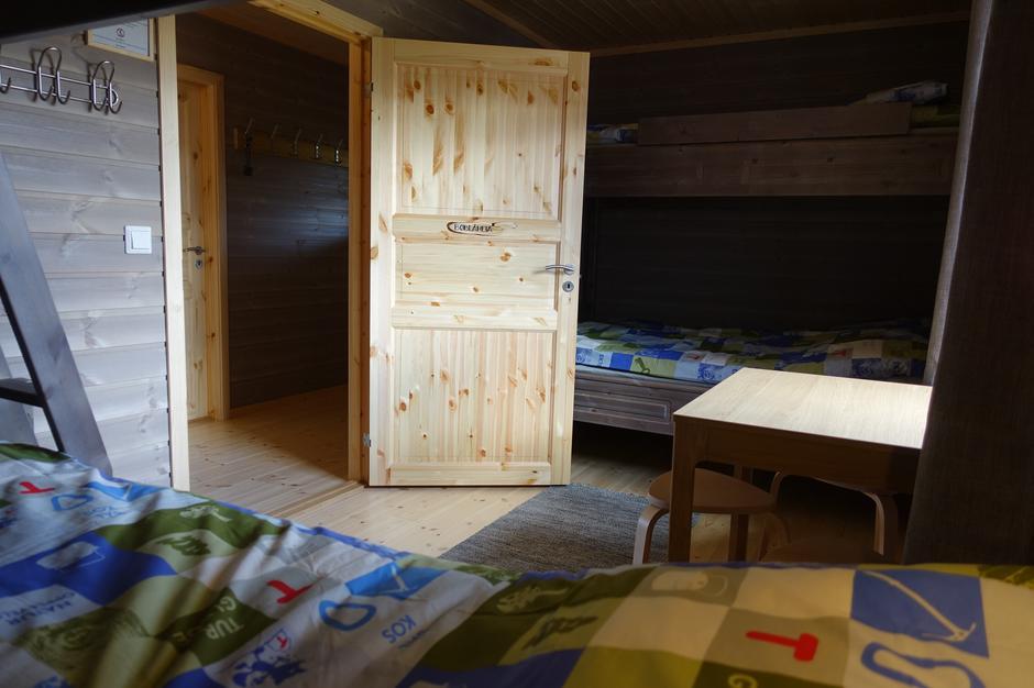 Bøblåheia familierom med seks sengeplasser