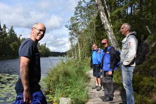 Dag Olav og dugnadsgjengen anbefaler rundturen - det er blitt en flott runde!