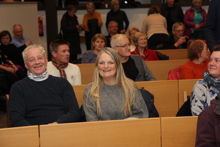 Stemningen var god under stiftelsesmøtet for Lørenskog Turlag