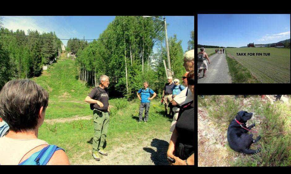 Jan forteller om sine hopp i Fonkalsrudbakken.