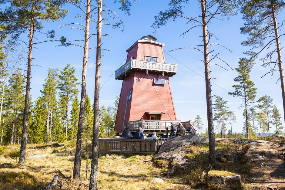 Haukenestårnet, Rømskog