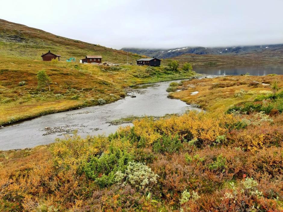 Ramsjøhytta i Sylan er ei populær selvbetjent hytte