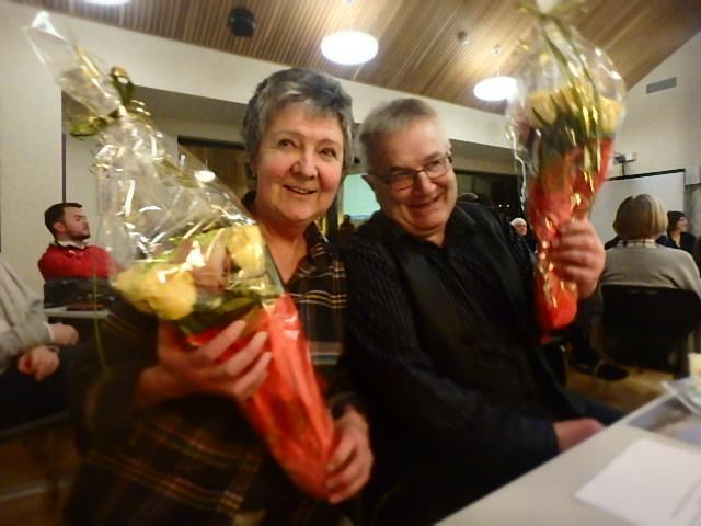 Takk for oss !! Kari Birkhaug og Stein Markussen