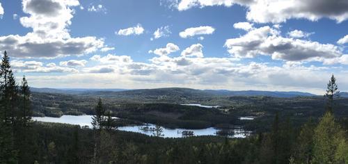 Utsikt over Øyungen