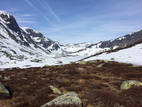 SETESDALSHEIENE UKE 16- 17, relativt kaldt og fortsatt skiføre