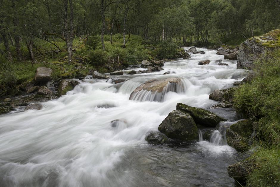 DNT mottok denne uken en miljøpris for sitt arbeid. Her Øystesevassdraget i Kvam. Den planlagte kraftutbyggingen ble stoppet av engasjementet til Bergen og Hordaland Turlag og DNT i 2017.